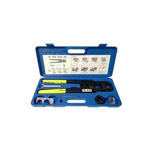 PEX Crimp Tool Kit for PEX sizes 1 and 1-14