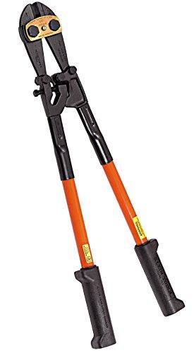 Klein Tools 63130 30-Inch Bolt Cutter - Fiberglass HandlesBlackRed30-12-Inch