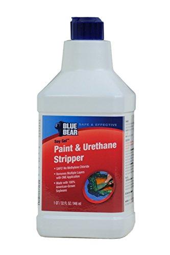BLUE BEAR Paint Urethane Stripper 1 Quart