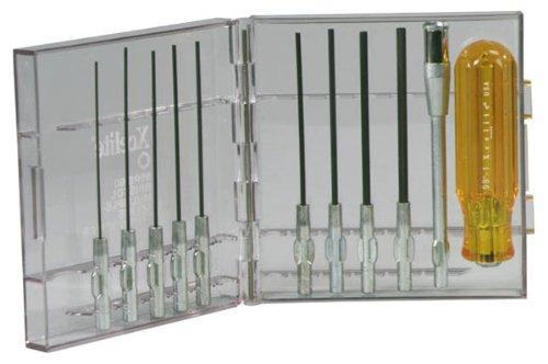 Xcelite 99PS60 Series 99 Compact Bristol Multiple-Spline Socket Type Screwdriver Set