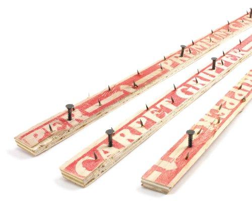 M-D Building Products 75093 WoodConcrete Nail 48-Inch Carpet Tack Strip 3 Pack