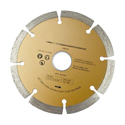4-12 115mm angle grinder diamond disc  disk cutting brick  stone TE619