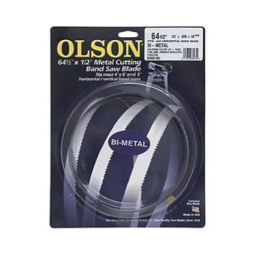 Olson 82164 Metal Cutting Band Saw Blade 64-12 Long X 12 Wide 10-14 Tpi Vari