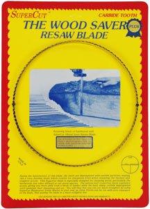 SuperCut B123P58V3 WoodSaver Plus Resaw Bandsaw Blade 123 Long - 58 Width 3-4 Variable Tooth