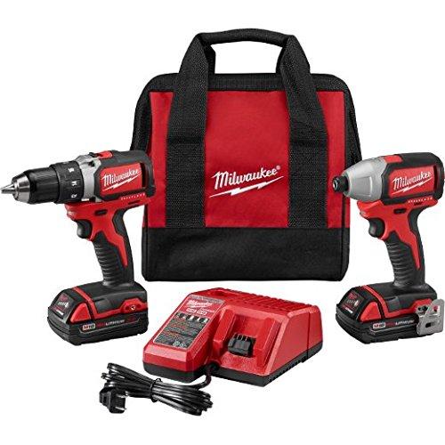 Milwaukee 2798-22CT M18 Cmpt Brushless Drill Impact Kit