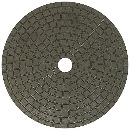 7 Inch Diamante Italia Wet Granite Polishing Pads - 50 Grit