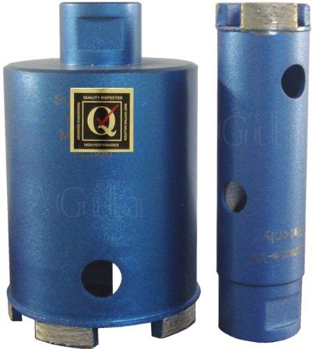 GilaTools 1-34 Supreme Wet Granite Marble Stone Diamond Core Drill Bit 58-11 Thread