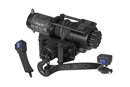 New KFI 3500 lb Stealth Edition Winch Model Specific Mounting Bracket - 2009-2013 Kawasaki Mule 4000 4x4 UTV