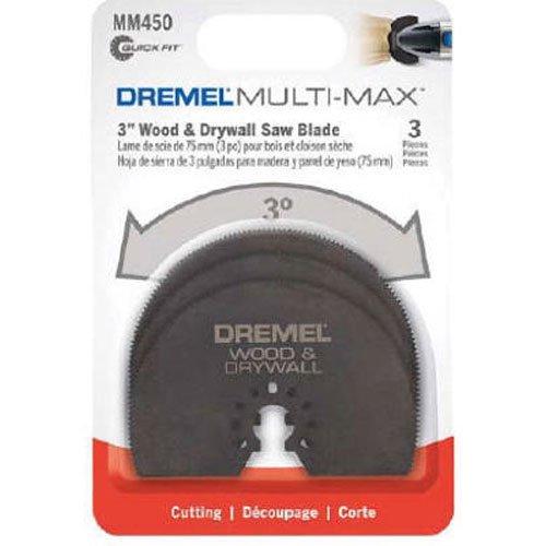 Dremel MM450B Multi-Max Wood Drywall Saw Blade 3-Pack