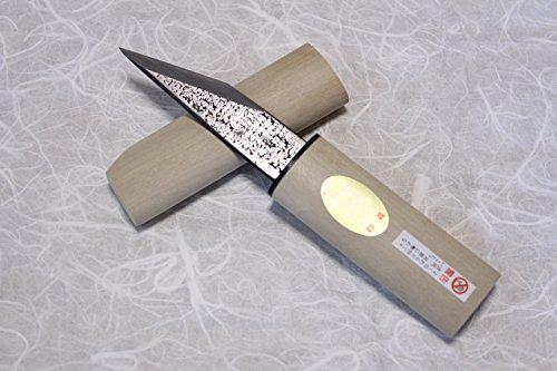 Kiridashi Knife Kogatana Japanese Woodworking Fujiwara Yasuki White 2 Steel Base Length 90mm