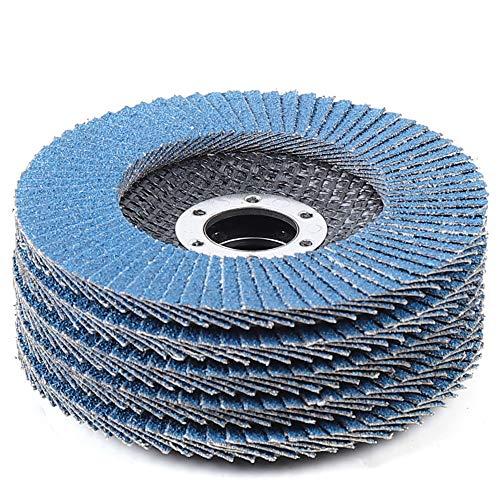 Disc Abrasive Sanding Wheels Grinding Wheel 50Pc Grinding Wheel 60 Grit 45 Flap Abrasive Sanding Wheels for Stainless