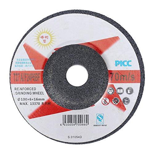 Grinding Wheel Disc Abrasive Wheels Discs Angle Grinder 10pcs Resin Fiber Circular Sanding Polishing High Efficiency Metal Tool Accessories100616mm