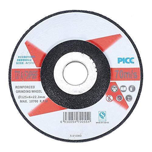 Grinding Wheel Disc Abrasive Wheels Discs Angle Grinder 10pcs Resin Fiber Circular Sanding Polishing High Efficiency Metal Tool Accessories125622mm
