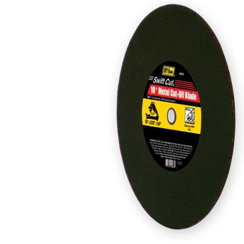 IVY Classic 40088 Swift Cut 10-Inch x 332-Inch x 58-Inch Arbor Metal Cut-Off Blade for Chop Saws 1-Piece