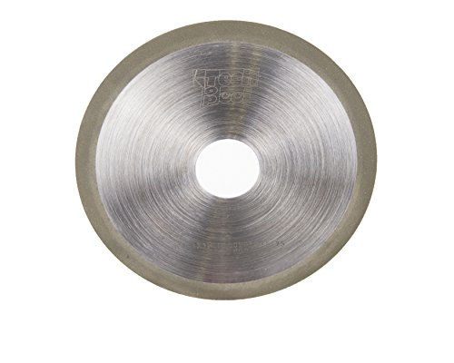CanTop Tool CT01-NDR1A1 R D150T01H3175X9 G180-C100 Diamond Cut-Off Wheels OD 6 Thickness 0039 Hole Dia 125 Grit Width 0355 Grit 180 Concentration 100 Resin Bond Dry
