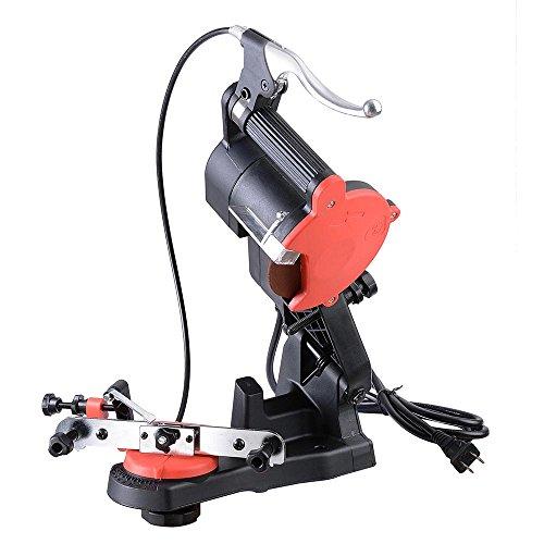 Yescom Electric Chain Saw Sharpener 4200RPM Bench Wall Mount Grinder Wheel Tool Brake