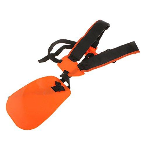 Universal Strimmer Double Shoulder Harness Strap For Home Garden Brush CutterTrimmer
