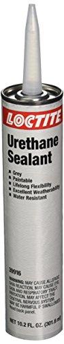 Loctite 39916 Gray Loctite One-Part Gray Urethane Paste Shore Hardness 33 Shore A Shear Strength 170 PSI Tensile Strength 200 PSI 102 oz Cartridge