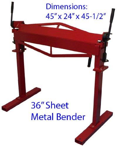 Industrial 36 In Heavy Duty Metal Bending Brake Bender
