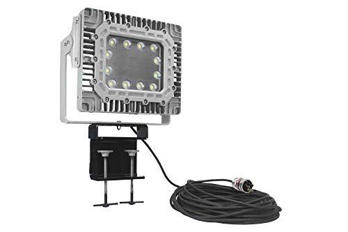 150W Marine Outdoor LED Flood Light - Adjustable Beam Clamp - 17 500 Lumens - 20 SOOW Cord