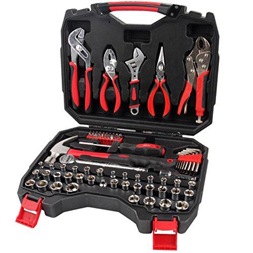 Apollo Tools 80 Piece Mechanics Tool Kit