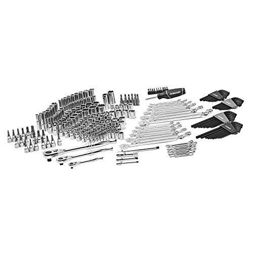 NEW Husky Mechanics Tool Set Kit New 268 Piece Case Chromium Steel Tools Durable
