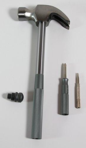 3 in 1 Hammer Philips Screw Driver Flat Head Driver Aluminum multi tool hammer