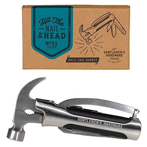 Wild and Wolf Gentlemens Hardware Hammer Plier Multi Tool