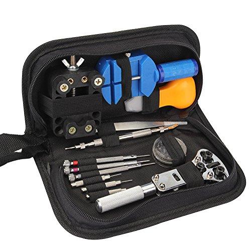 Watch Repair Tool Kit Angozo Watch Repair Tool Set - Opener Pin Watch Link Remover Spring Bar Tool Set