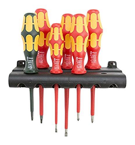 Wera Kraftform Plus 160i168i6 Insulated Professional Screwdriver Set 6-Piece