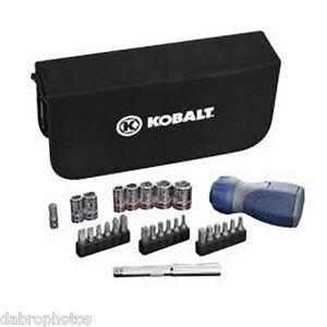 Kobalt 28-Piece StandardMetric Mechanics Tool Set with Case
