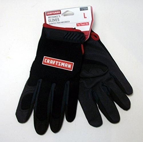 Craftsman Mechanics Black Gloves - Large