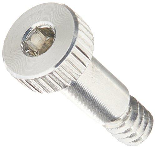 6061 Aluminum Shoulder Screw Socket Head Cap Hex Socket Drive Standard Tolerance Meets ASME B183 6-32 Thread Size 532 Shoulder Diameter 516 Shoulder Length
