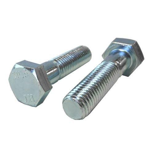 M8-125 x 45mm Hex Head Cap Screws Steel Metric Class 109 Zinc Plating Quantity 100 pcs - Coarse Thread Metric Partially Threaded Length 45mm Metric Thread Size M8 Metric