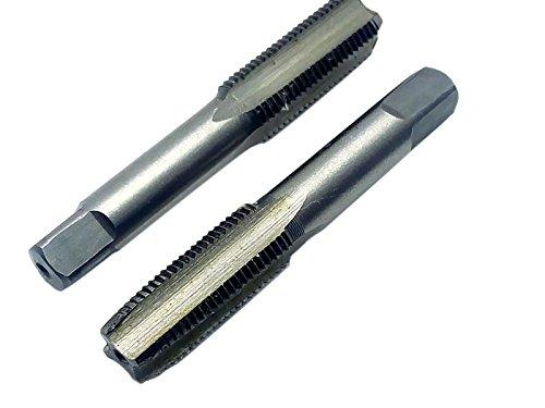 HSS 10mmx1 Metric Taper and Plug Tap Right Hand Thread M10 x 1mm Pitch