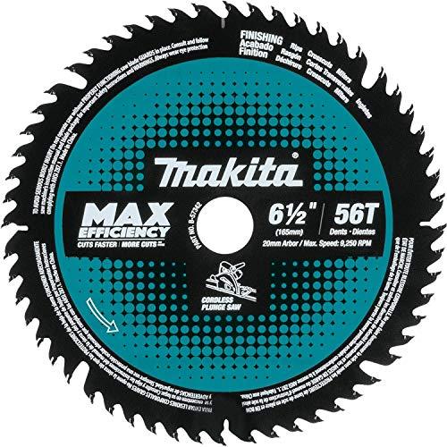 Makita B-57342 6-12 56T Carbide-Tipped Cordless Plunge Saw Blade