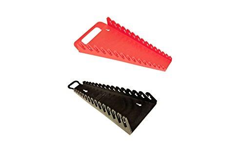 ERNST Mfg 5088 RD  5189 BK GRIPPER 15 Wrench Organizer Set - YES 1 Each