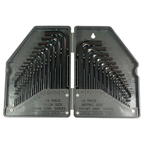 HTS 123B0 30 Pc Allen Wrench Set SAEMetric