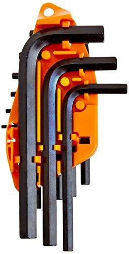 MINTCRAFT TW-050-03 1 1 1 Short Arm Hex Key Set Met 10-Piece by Mintcraft