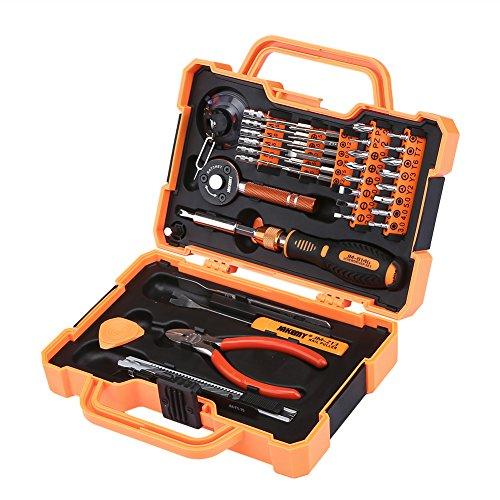 Tool Kit Household Maintenance Kit Hardware Repair Kit Precision Screwdriver Set General Multi-functional Anti-Drop Electronic Tool Set Magnetic for Mobile Smartphone Electronics 47 in 1