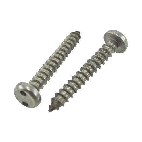 14 X 34 Stainless Steel Pan Head Spanner Sheet Metal Screws Pack of 12