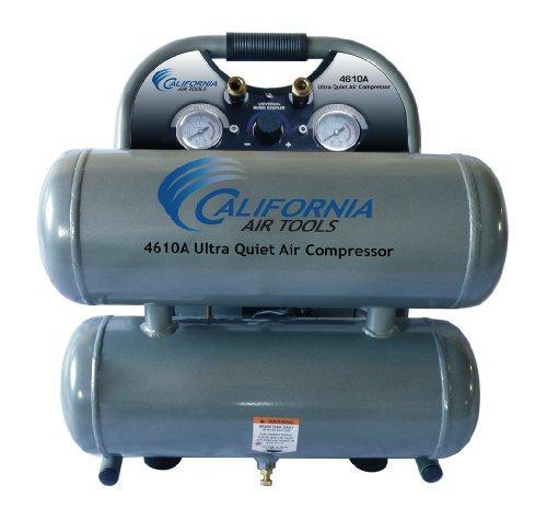 California Air Tools CAT-4610A Ultra Quiet and Oil-Free 10 Hp 46-Gallon Aluminum Twin Tank Air Compressor