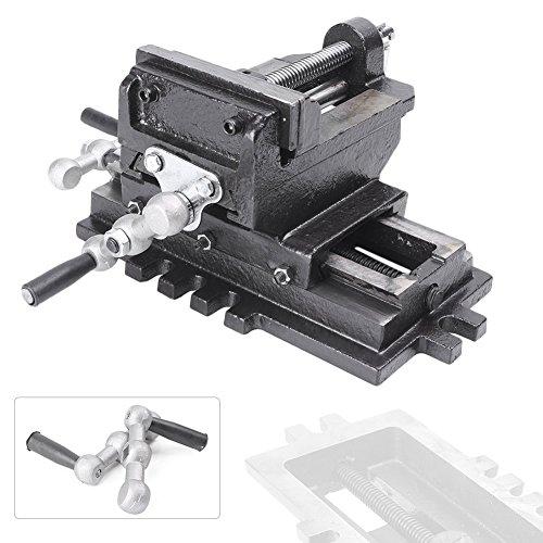 Mallofusa 4 Cross Slide Drill Press Vise X-Y Metal Milling 2 Way HD