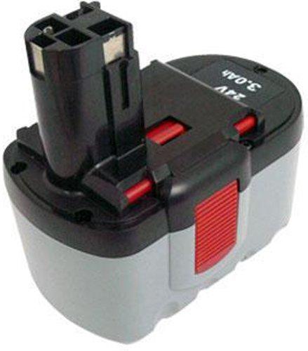 PowerSmart Bosch BAT240 BAT031BAT030 24-Volt3000MAH Ni-MH Replacement cordless drill Battery