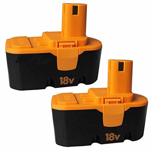 18V 30Ah Battery for Ryobi ONE P100 P101 High Capacity Replace Cordless Power Tools battery 2-Packs GERIT BATT