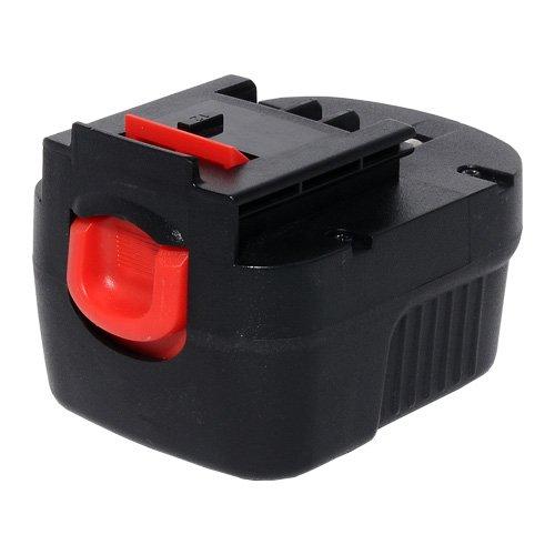 Powergiant 12V 2000mAh NI CD Replacement Power Tool Battery for BLACK DECKER A12 A12-XJ A12EX A1712 B-8315 BD-1204L BD1204L BPT1047 FS120B FS120BX FSB12 HPB12 Series Cordless Drill