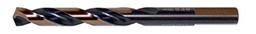 Drillco Drill Bit 116 Nitro Mechanics Length Drills High Speed Steel Black Bronze 135° Point 12 Pack