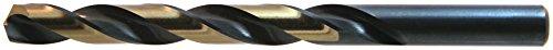 Drillco Drill bit 1164 Nitro Heavy Duty Jobber Drills High Speed Steel Black Bronze 135° Point 12 Pack