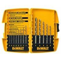 DEWALT DW1263 14-Piece Cobalt Pilot Point Drill Bit Set