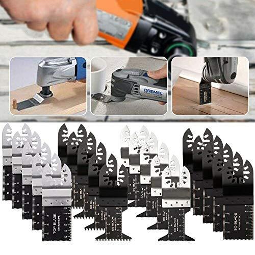 20 Saw Blade Oscillating Multi Tool Fit Fein Bosch Milwaukee Porter Cable Dewalt